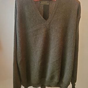 Mens Alpaca Wool Sweater
